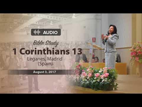 "Audio Bible study – 1 Corinthians 13: ""Love"" – Sister Maria Luisa Piraquive - English"