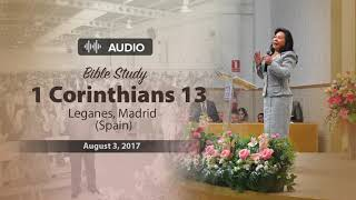 "Audio Bible study – 1 Corinthians 13: ""Love"" – Sister Maria Luisa Piraquive - English"