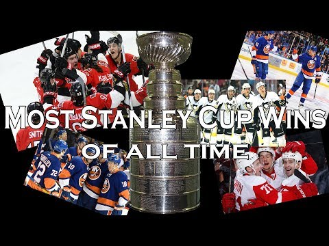 Most Stanley Cup Wins By Teams