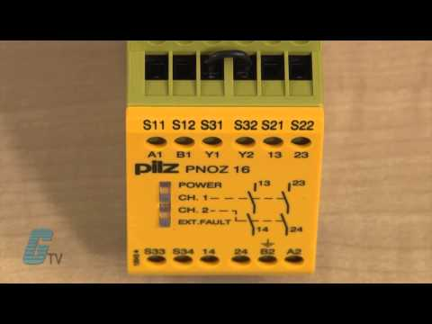 Pilz Pnoz X Safety Relays