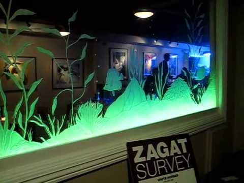 Etched Glass W Led Light System Youtube