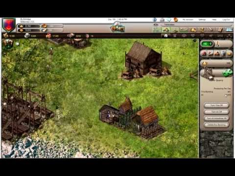 Stronghold Kingdoms - Capping the Village