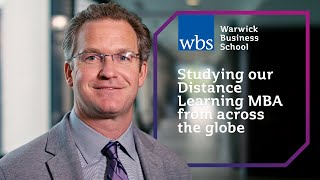 Studying our Distance Learning MBA from across the globe - What I did next