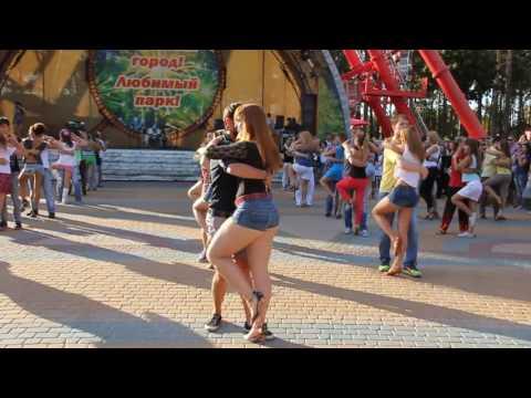 International kizomba Flashmob  by Alma Besso in Kharkov, Ukraine
