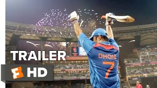 M.S. Dhoni: The Untold Story Official Trailer 1 (2016) - Neeraj Pandey