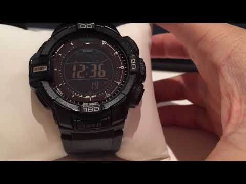 "Review Casio Pro-Trek ""Special Ops"" All Black - PRG-270-1A"