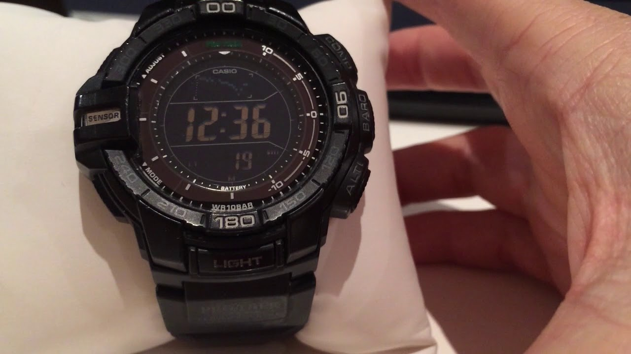4155f51ae Review Casio Pro-Trek