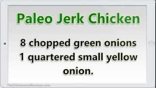 Paleo Jerk Chicken | Spicy Chicken Recipe