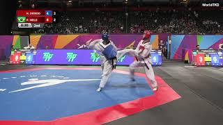 Paulo Ricardo No Mundial De Taekwondo 2019