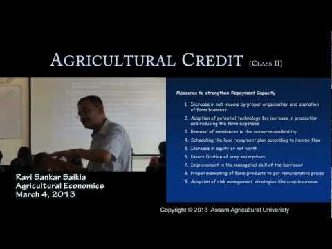 Economic Feasibility Test for Farm Credit Proposal (3Rs of Credit)