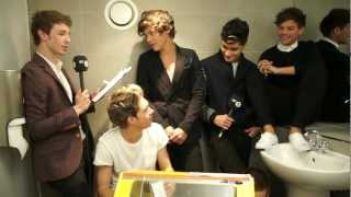 One Direction In A Toilet With Matt Edmondson
