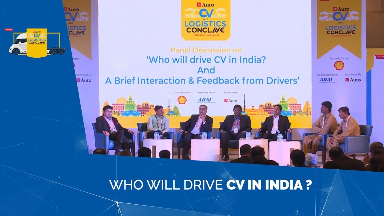 Who will drive CV in India? |ETAuto CV & Logistics Conclave