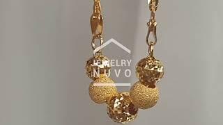 Jewelry NUVO Mirror Cutting Ball Neclace 01