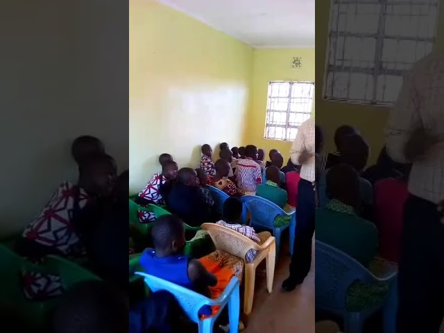Brother Haron Preaching Whatever is Done in Secret to Children 4 1 2018 Western Kenya