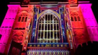 The Light of the Spirit by Patrice Warrener at Westminster Abbey - Lumiere London