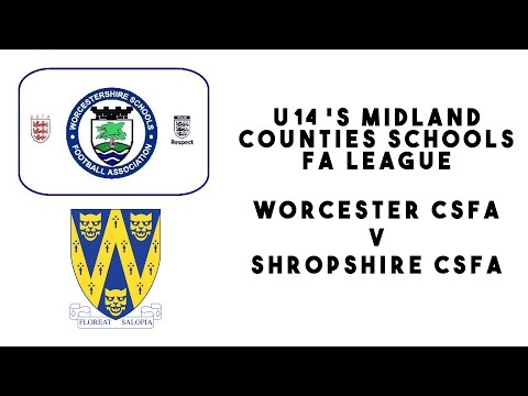 Worcestershire CSFA U14s 3 - 0 Shropshire CSFA U14s | Inter County FA Cup