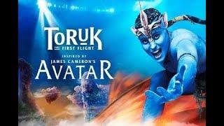 Красивейшее шоу. TORUK — Первый полёт. Cirque du Soleil. Визуальные эффекты - супер.