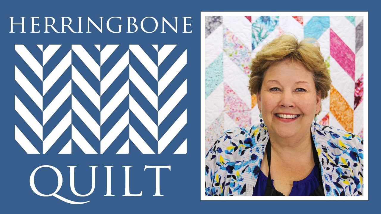 The Herringbone Quilt: Easy Quilting Tutorial with Jenny Doan of ... : free herringbone quilt pattern - Adamdwight.com