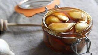 간에 좋은 꿀과 마늘 요법 | Anna Channel