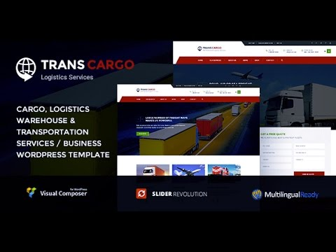 Trans Cargo – Transport & Logistics WordPress Theme