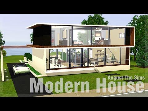 The Sims 3 - Speed Build | Строим Современный Дом