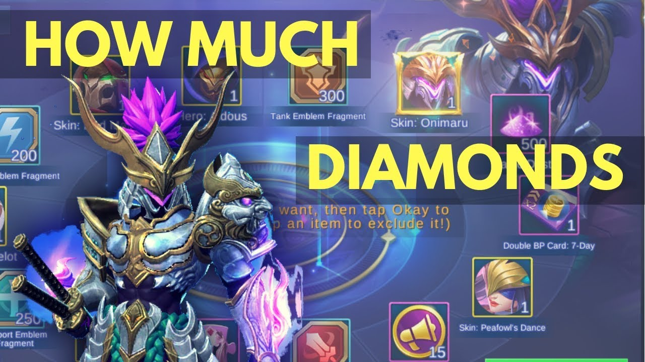 SABER ONIMARU SKIN : LETS FIND OUT HOW MUCH DIAMONDS IT COSTS ...