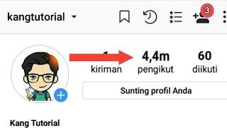 Tutorial menambahkan Ribuan Followers di INSTAGRAM  GRATIS!!