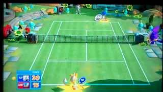 Sega Superstars Tennis Xbox 360 Gameplay