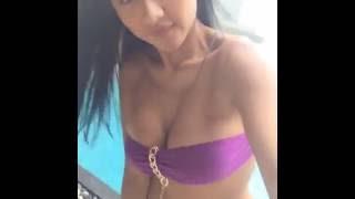 Jelly jello hot indonesian maxim model take off her B r a