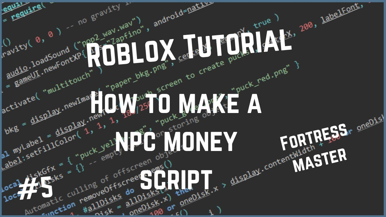 Roblox how to make a cash on kill script! (Leader board included)