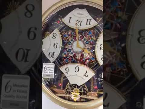 Our latest Seiko musical clock - with disco lights!