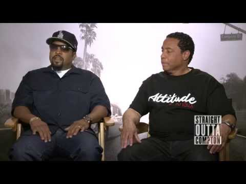 Exclusive Ice Cube & DJ Yella  Straight Outta Compton