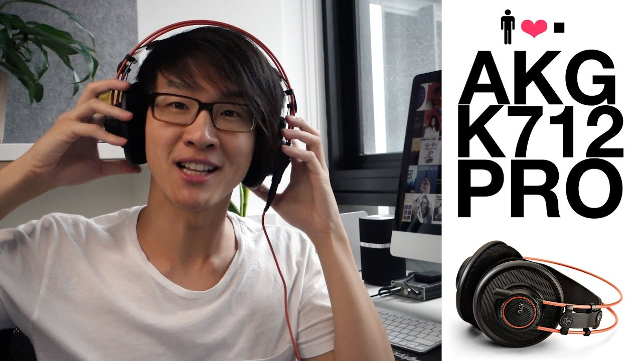 AKG K712 Pro 'Reference' Headphone Review - YouTube