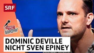 Dominic Deville: das Leben als SRF-Promi | Comedy Talent Show mit Lisa Christ | SRF Comedy