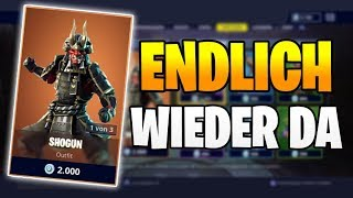 ENDLICH BACK DA Shogun Skin 👹🎌 Fortnite Shop Today 5.4 | Item Shop 5.04