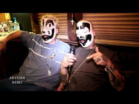INSANE CLOWN POSSE [COMPLETE] INTERVIEW 2016 - TALKS GATHERING, FRESH NEWS, CHARITY, FBI
