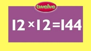 12 Times Table Multiplication Game Fun - Answers & then test yourself!