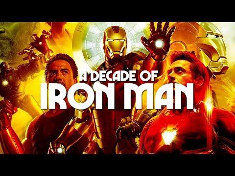 MCU Supercut - A Decade of Iron Man