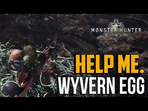 Monster Hunter World : Ancient Forest Wyvern Egg Location & How to Deliver