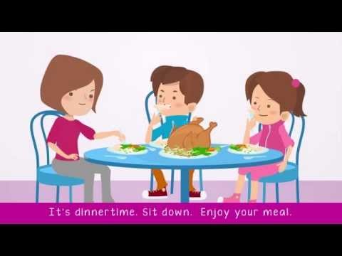 Preparing Dinner | Count And Non-Count Nouns | ESL Classics - Songs For Learning English