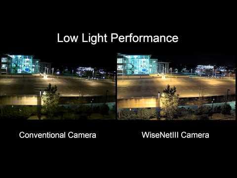 Świetnej jakości obraz przy słabym oświetleniu - WiseNetIII