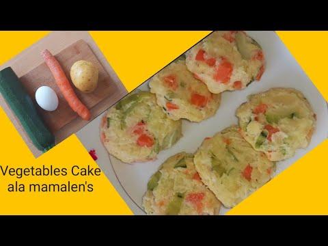 1Carrots,1Potato,1zuchini,1egg, Easy & Delicious Vegetables Cake