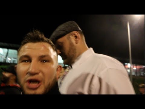 TYSON FURY IMMEDIATE REACTION TO SAUNDERS WIN OVER MONROE & ISAAC LOWE GOES IN ON THE WALSH BROS