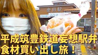 平成筑豊鉄道妄想駅弁の食材買い出し旅!方城特産館ふくちの郷に行ってみた