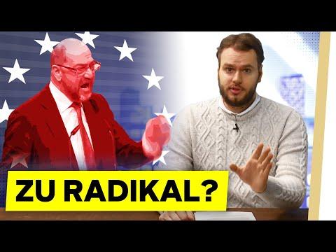 """""""VEREINIGTE STAATEN VON EUROPA"""" - Geht Martin Schulz zu weit?"""