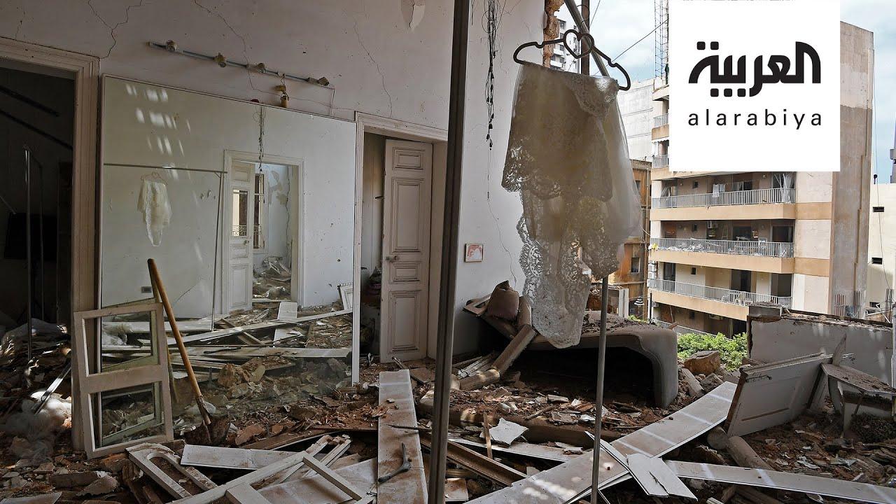 مشاهد حزينة ومروعة لدماء وصرخات من موقع انفجار بيروت الدامي