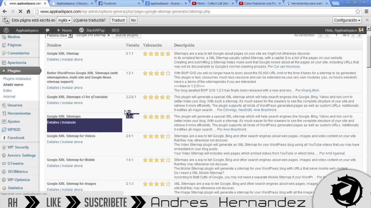 como posicionar mi sitio web herramienta xml sitemaps y webmaster