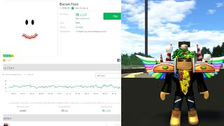 Adding A New Limited Bacon Face On My Roblox Avatar!