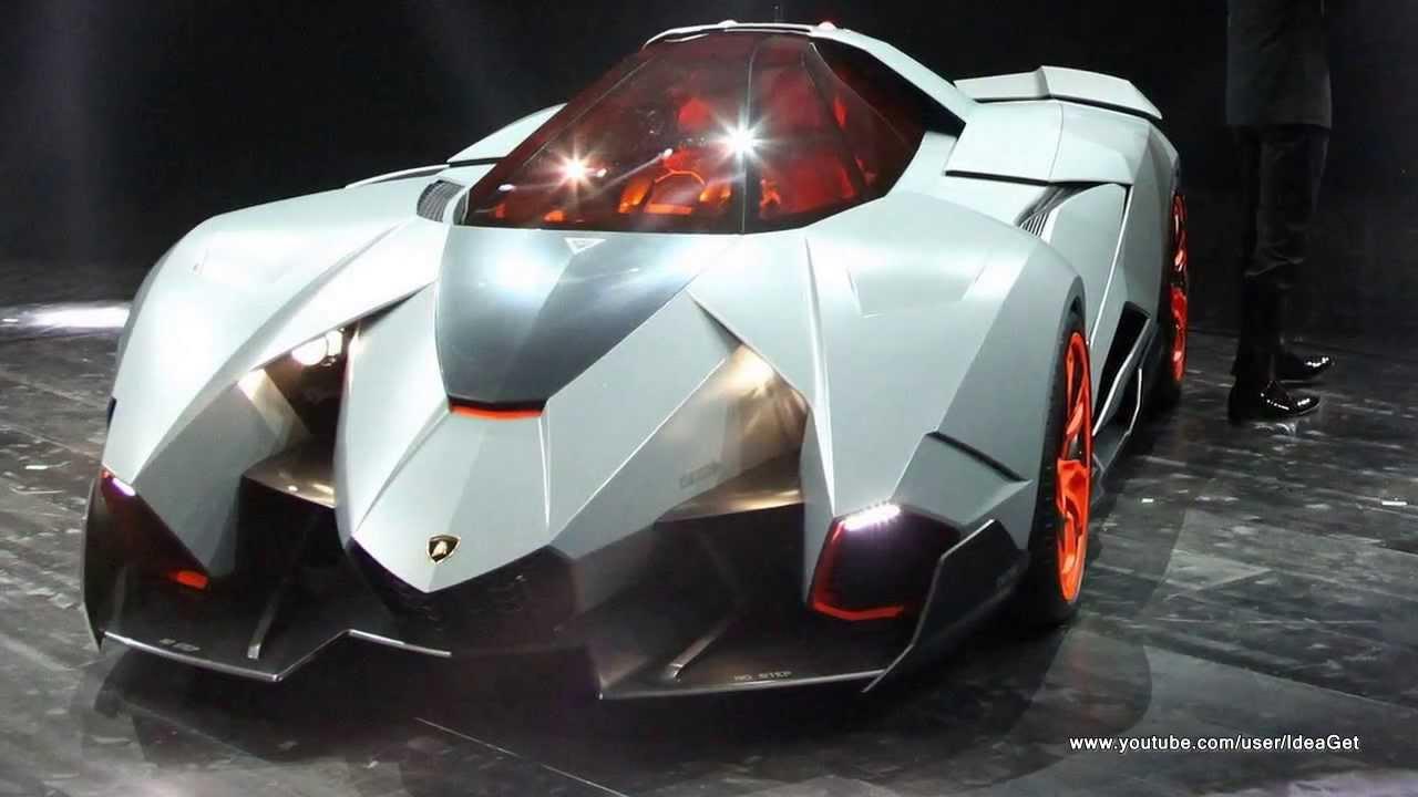 2013 Lamborghini Egoista Concept Interiors And Exteriors Youtube
