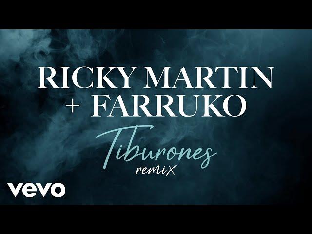 Ricky Martin, Farruko - Tiburones (Remix - Official Lyric Video)